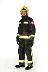 Bombers Barcelona uniform. (Fire Service Barcelona.)