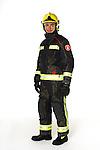 Bombers Barcelona uniform. (Fire Service Barcelona.)