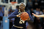 22 January 2017: Notre Dame's Arike Ogunbowale. The University of North Carolina Tar Heels hosted the University of Notre Dame Fighting Irish at Carmichael Arena in Chapel Hill, North Carolina in a 2016-17 NCAA Division I Women's Basketball game. Notre Dame won the game 77-55