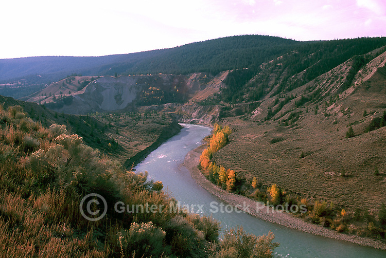 Cariboo chilcotin river farwell canyon rivers bc pictures images