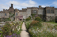 View of Haddon Hall from The Fountain Terrace