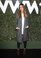 Los Angeles, CA - NOVEMBER 02: Jessica Alba at The Who What Wear 10th Anniversary #WWW10 Experience At W Los Angeles in Who What Wear Store, California on October 29, 2016. Credit: Faye Sadou/MediaPunch