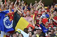 FUSSBALL WM 2014  VORRUNDE    Gruppe H     Belgien - Algerien                       17.06.2014 Belgische Fans
