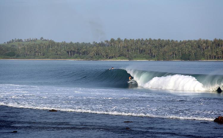 Surfing Barrels