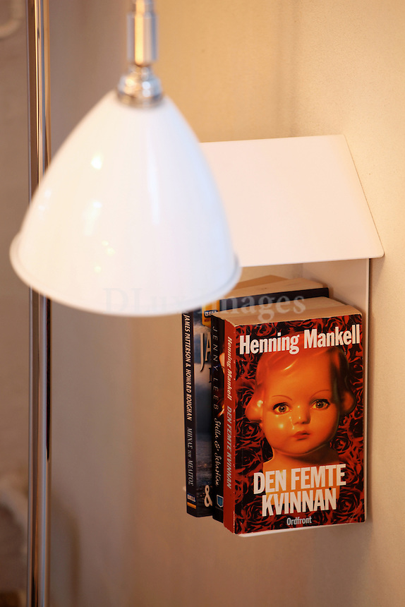 modern metal bookshelf