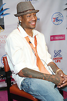 PHILADELPHIA, PA - AUGUST 4 :  Allen Iverson pictured at the Allen Iverson Celebrity UnGala 2016 held at the Sheraton Philadelphia Society Hill Hotel in Philadelphia, Pa on August 4, 2016 photo credit Star Shooter/MediaPunch