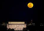 Moonrise Over D.C.