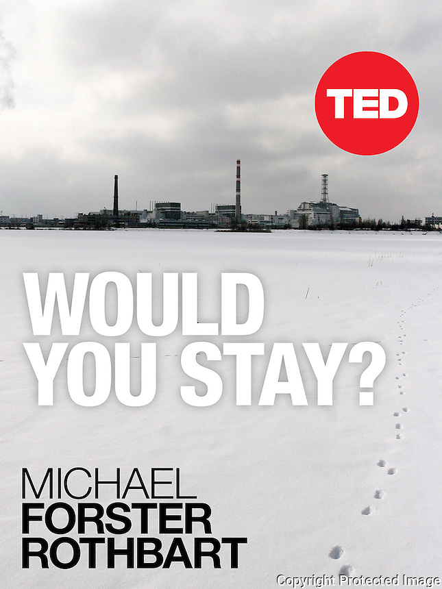 Would You Stay? by Michael Forster Rothbart,<br /> Published by TED Conferences (October 28, 2013).<br /> http://bit.ly/TED-Would-You-Stay<br /> <br /> The devastating nuclear meltdown at Chernobyl scattered radioactive fallout across 30 countries in Europe. Yet in the regions with worst contamination, the vast majority of people stayed, despite the potential danger. A generation later, after the 2011 tsunami triggered disaster in a power plant that&rsquo;s still leaking nuclear waste, the people of Fukushima, Japan, are confronting the same impossible questions about about safety, security, and their future.<br /> <br /> In Would You Stay?, photojournalist Michael Forster Rothbart tries to understand why people refuse to leave Chernobyl and Fukushima despite the risks. With Forster Rothbart&rsquo;s personal narrative as guide, this stunning and provocative book blends photos, interviews, maps, and audio recordings to help us weigh the true value of home. In the end, Forster Rothbart and the reader both confront the ultimate question: Would you stay?<br /> ------------------- <br /> This photograph is part the book of Would You Stay?, by Michael Forster Rothbart, published by TED Books in 2013. The photos come from Forster Rothbart&rsquo;s two long-term documentary photography projects, After Chernobyl and After Fukushima.<br /> &copy; Michael Forster Rothbart 2007-2013.<br /> www.afterchernobyl.com<br /> www.mfrphoto.com &bull; 607-267-4893 &bull; 607-436-2856 <br /> 34 Spruce St, Oneonta, NY 13820<br /> 86 Three Mile Pond Rd, Vassalboro, ME 04989<br /> info@mfrphoto.com<br /> Photo by: Michael Forster Rothbart