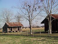 Slave Quarters, Laura Plantation, Louisiana