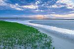 Sunset at First Encounter Beach, Eastham, Cape Cod, Massachusetts, USA
