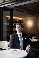 Philadelphia, PA, August 28, 2015 -  A portrait of Larry Korman, Co-President of Korman Communities, a Philadelphia- based company that develops three hybrid residential real estate/hotel brands: AKA, its extended-stay hotels; AVE, which provides furnished apartments; and ARK, which offers furnished and unfurnished units.