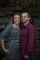 Liz & Daniel's engagement session at Mingo Creek State Park in Findleyville, PA on October 22, 2014.