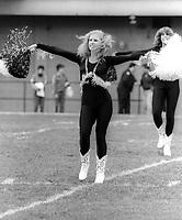 Ottawa Rough Riders cheerleader. Photo F. Scott Grant