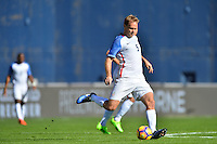 San Diego, CA - Sunday January 29, 2017: Chad Marshall during an international friendly between the men's national teams of the United States (USA) and Serbia (SRB) at Qualcomm Stadium.