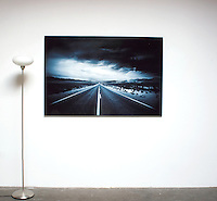 """Easterwood: Endless Road 1,  Dimensions 41.5"""" x 62"""" Digital Print, , film art, cleared art rental, cleared artwork, cleared artwork for film and tv"""