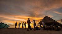 Namotu Island Resort, Nadi, Fiji (Saturday, June 4 2016): Waqua's bar - The  2016 Fiji  Pro Opening Ceremony was held to day on Tavarua Island with a tradition kava ceremony to welcome all the surfers. Kelly Slater dedicated this event to the memory of Chief Druku who passed away late last year. Photo: joliphotos.com