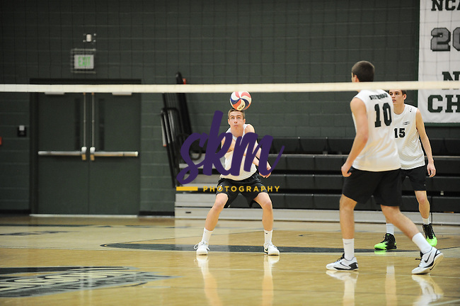 Stevenson men's volleyball celebrated senior night with a 3-1 win over Eastern Mennonite on Wednesday night at Owings Mills gymnasium with set scores of (18-25), (25-23), (17-25) and (22-25).