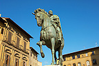 Statue of Cosimo Medicci  - Plazza Della Signora - Florence Italy.