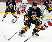 Mike Dalhuisen (Quinnipiac - 2) - The visiting Quinnipiac University Bobcats defeated the Harvard University Crimson 3-1 on Wednesday, December 8, 2010, at Bright Hockey Center in Cambridge, Massachusetts.