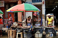 Women prepare fish to sell at a street market in Quibdó, the capital of the department of Chocó, the poorest region of Colombia. Gordon Radley, former president of Lucasfilm (Star Wars, Indiana Jones) traveled to Quibdó this month as part of his decades-long search for the remains of his brother, Lawrence Radley, a Peace Corps volunteer who died in a plane crash in the Chocó jungle in 1962. Radley promised that he would someday retrace the last steps of his brother, and complete the journey from Bahía Solano to Quibdó that his brother died trying to make.