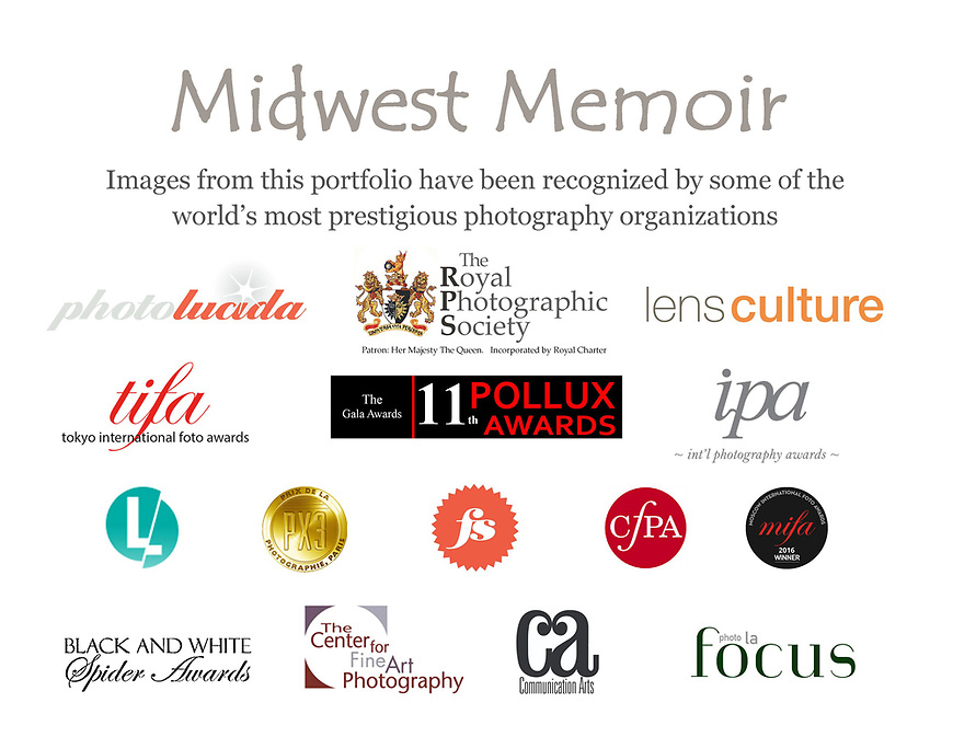 "The ""Midwest Memoir"" portfolio of photographs by Michael Knapstein has been recognized by some of the world's most prestigious photography organizations."
