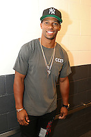 BROOKLYN, NEW YORK - JULY 21, 2016 Victor Cruz backstage at the Roc Nation Summer Classic Charity Basketball Game July 21, 2016 at The Barclays Center in Brooklyn, New York. Photo Credit: Walik Goshorn / Media Punch