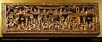 Chinese Gilded Plaque, Room 33, British Museum, London, England, UK