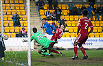 St Johnstone v Aberdeen...23.01.15   SPFL<br /> Michael O'Halloran puts the ball wide<br /> Picture by Graeme Hart.<br /> Copyright Perthshire Picture Agency<br /> Tel: 01738 623350  Mobile: 07990 594431