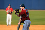Ole Miss' Brett Huber (38) vs. Wright State at Oxford University Stadium in Oxford, Miss. on Sunday, February 20, 2011. Ole Miss won 6-5 to improve to 3-0 on the season.