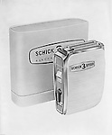Pittsburgh PA: Studio Photography of the New Schick 3 Speed Electric Shaver - 1962.