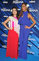 Auli&rsquo;i Cravalho and Nicole Scherzinger at the &quot;Moana&quot; gala film screening, BAFTA, Piccadilly, London, England, UK, on Sunday 20 November 2016.<br />