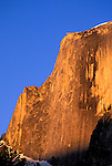 Evening light on Half Dome, Yosemite Valley, Yosemite National Park, California USA