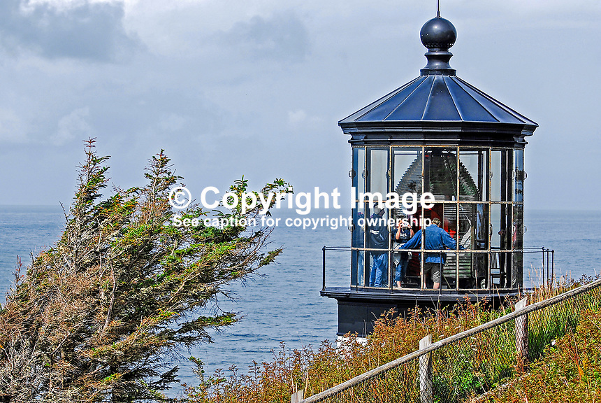 Lighthouse, Cape Meares, Oregon, USA, 200808310699..Copyright Image from Victor Patterson, 54 Dorchester Park, Belfast, N Ireland, BT9 6RJ...Tel: +44 28 9066 1296.Mob: +44 7802 353836.Email: victorpatterson@mac.com..IMPORTANT - Please visit www.victorpatterson.com and click on Terms &amp; Conditions
