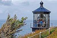 Lighthouse, Cape Meares, Oregon, USA, 200808310699..Copyright Image from Victor Patterson, 54 Dorchester Park, Belfast, N Ireland, BT9 6RJ...Tel: +44 28 9066 1296.Mob: +44 7802 353836.Email: victorpatterson@mac.com..IMPORTANT - Please visit www.victorpatterson.com and click on Terms & Conditions
