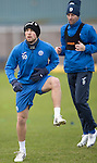 St Johnstone Training&hellip;30.12.16<br />David Wotherspoon pictured during training this morning ahead of tomorrow&rsquo;s game against Dundee<br />Picture by Graeme Hart.<br />Copyright Perthshire Picture Agency<br />Tel: 01738 623350  Mobile: 07990 594431