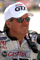 INDIANAPOLIS, IN - SEPTEMBER 4: Funny Car driver John Force at the NHRA Mac Tools US Nationals on September 4, 2006, at Indianapolis Raceway Park near Indianapolis, Indiana.