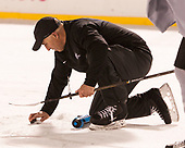 Jim Tortorella (PC - Volunteer Assistant Coach) - The Providence College Friars practiced at Fenway on Friday, January 6, 2017, in Boston, Massachusetts.
