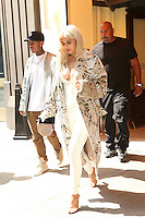 NEW YORK, NY - September 7: Kylie Jenner and Tyga  seen leaving Cipriani Soho on September 7, 2016 in New York City. Credit: DC/Media Punch