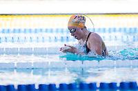 Santa Clara, California - Friday June 3, 2016: Colby Hurt races the Women's 400 LC Meter IM in the B final.