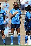 13 September 2015: UCLA's Darian Jenkins. The University of North Carolina Tar Heels hosted the University of California Los Angeles Bruins at Fetzer Field in Chapel Hill, NC in a 2015 NCAA Division I Women's Soccer game. UNC won the game 3-1.