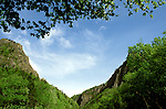 New Hampshire: Geology, a notch, Dixville Notch.  Photo #: nhappa103..Photo copyright Lee Foster, www.fostertravel.com, 510/549-2202, lee@fostertravel.com