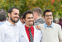 Murtaza Bharmal. Class of 2017 White Coat Ceremony.