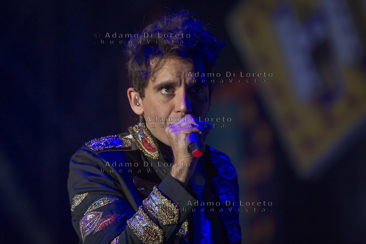 Chieti, italy, the singer Mika in concert , on July 30, 2016. Photo: Adamo Di Loreto/BuenaVista*photo