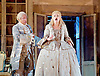 The Barber of Seville <br /> by Rossini <br /> English National Opera, London Coliseum, London, Great Britain <br /> Rehearsal <br /> 25th September 2015 <br /> <br /> <br /> Eleazar Rodriguez as Count Almaviva <br /> <br /> Kathryn Rudge as Rosina <br /> <br /> <br /> <br /> Photograph by Elliott Franks <br /> Image licensed to Elliott Franks Photography Services