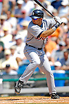 13 March 2007: Detroit Tigers catcher Mike Rabelo in the action against the Los Angeles Dodgers at Holman Stadium in Vero Beach, Florida.<br /> <br /> Mandatory Photo Credit: Ed Wolfstein Photo