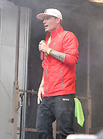 NEW YORK, NY - AUGUST 5: Vanilla Ice performs at the FOX and Friends All-American Summer Concert Series in New York, New York on August 5, 2016.  Photo Credit: Rainmaker Photo/MediaPunch