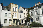 Broadstairs Kent Uk. Fort Road houses as they would have been in Dickens time