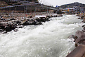 General view, APRIL 15, 2012 - Canoeing : General view of Ida river Canoeing Course during the 2012 Canoeing NHK Cup Slalom Competitions at Ida River, Toyama, Japan. (Photo by Yusuke Nakanishi/AFLO SPORT) [1090]