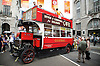 TFL Regent Street Festival <br /> with a display of transport designs <br /> 3rd July 2016 <br /> presented by Transport for London (TfL) and London Transport Museum.<br /> <br /> Regent Street, London, Great Britain <br /> <br /> The Transported by Design festival celebrates the designs that have kept London on the move from Victorian times to the present, and give visitors a peek at what might come in the future. <br /> <br /> <br /> The festival will stretch all the way from Piccadilly Circus to Oxford Circus Tube stations and is part of 'Summer Streets', which sees Regent Street go traffic free every Sunday in July.<br /> <br /> Regent Street will be divided into three zones - Past, Present and Future - and will showcase the best in transport inspired design with a host of activities.<br /> <br /> See a horse drawn bus and heritage buses<br /> Take a look at a 1927 Tube train carriage<br /> View an exhibition of classic advertising posters and signage<br /> <br /> Photograph by Elliott Franks <br /> Image licensed to Elliott Franks Photography Services