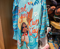 "The Disney Store in Times Square in New York promotes merchandise tied to its latest release, ""Moana"", seen on Saturday, November 26, 2016. Playing in 3875 locations ""Moana"" appears to be the winner of the Thanksgiving movie sweepstakes already earning $21.8 million with an estimate of over $80 million by the time the holiday weekend ends. And that's just box office, it doesn't include the obligatory merchandising that goes along.  (© Richard B. Levine)"